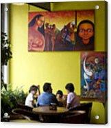 Art In Mexico Acrylic Print