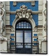 Art Nouveau In Riga Acrylic Print