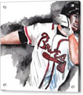 Art Of The Braves Acrylic Print by Torben Gray