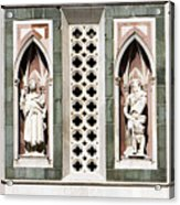 Art On Duomo In Florence Italy Acrylic Print