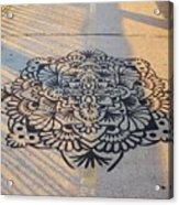 Art On Manhattan Bridge Acrylic Print