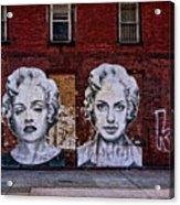 Art On The Street Acrylic Print