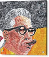Art Rooney Acrylic Print by William Bowers
