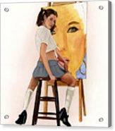 Art Student Acrylic Print