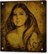 Artemis Who Acrylic Print
