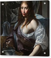Artemisia Prepares To Drink The Ashes Of Her Husband Mausolus    Acrylic Print