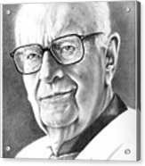 Arthur C. Clarke Acrylic Print