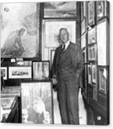 Arthur Conan Doyle Acrylic Print