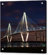 Arthur Ravenel At Night Acrylic Print