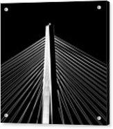 Arthur Ravenel Jr. Bridge Lines Acrylic Print