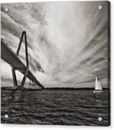 Arthur Ravenel Jr. Bridge Over The Cooper River Acrylic Print