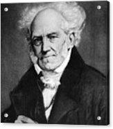 Arthur Schopenhauer Acrylic Print by Granger