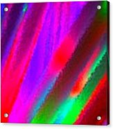 Artificial Rainbow Acrylic Print
