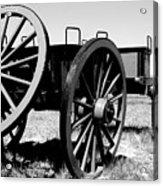 Artillery Wagon Acrylic Print