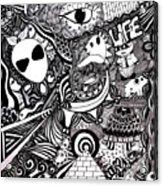 Artist Acrylic Print