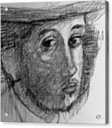 Artist Degas  Acrylic Print