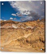 Artists Drive, Death Valley Acrylic Print