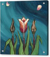 Artists In Bloom Acrylic Print by Brandy Woods