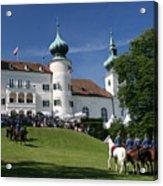 Artstetten Castle In June Acrylic Print