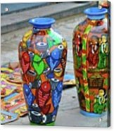 Artwork Large Vase Acrylic Print