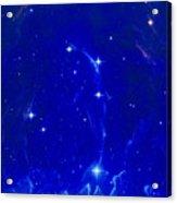 Artwork Of The Constellation Delphinus Acrylic Print