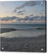 Aruba Beach At Dusk Acrylic Print