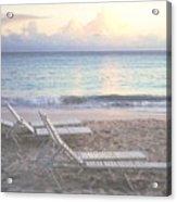 Aruba Beach Acrylic Print