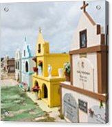 Aruba Cemetery Acrylic Print