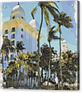 Aruba Palms Two Acrylic Print