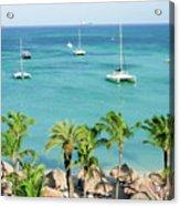 Aruba Shore Acrylic Print