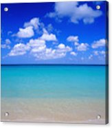 Aruba Sky And Sea Acrylic Print