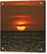 Arubian Sunset Acrylic Print