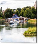 Arundel Acrylic Print by Trevor Wintle