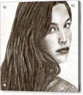 Arwen Acrylic Print