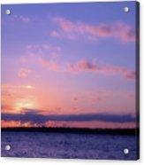 As Sun Sets Acrylic Print