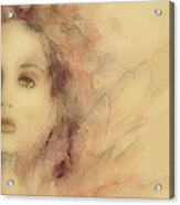 As Tears Go By Acrylic Print by Paul Lovering