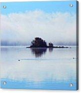 As The Fog Clears Acrylic Print
