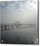 As The Fog Lifts Acrylic Print