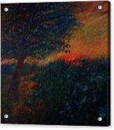 As The Sun Sets Acrylic Print