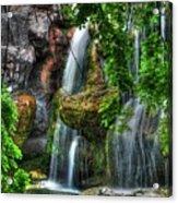 As The Water Falls Acrylic Print