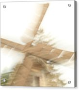 As The Windmill Spins Acrylic Print