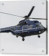 As332 Super Puma Helicopter Acrylic Print