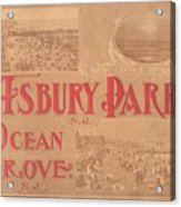 Asbury Park And Ocean Grove Acrylic Print