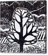 Ash Tree Acrylic Print by Becca Thorne