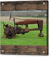 Ashes To Ashes - Rust To Rust Acrylic Print