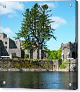 Ashford Castle And Cong River Acrylic Print