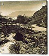 Ashness Bridge Cumbria England Acrylic Print