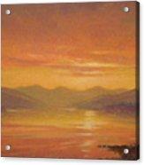Ashokan Sunset Acrylic Print