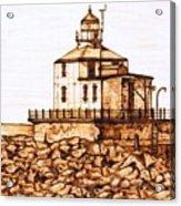 Ashtabula Harbor  Acrylic Print