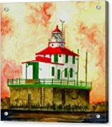 Ashtabula Lighthouse Acrylic Print